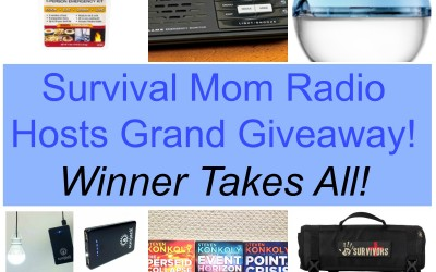 Survival Mom Radio Network Grand Giveaway #1
