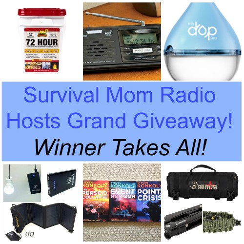 Survival Mom Radio Network Hosts Grand Giveaway #1!  Ends 9/9/14!  Winner takes all!