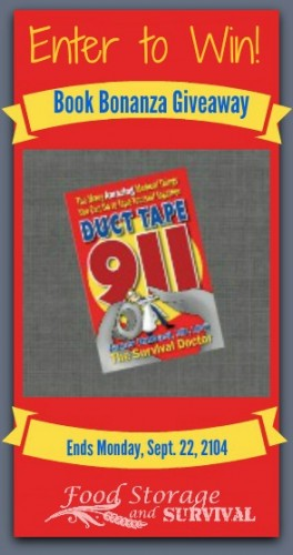 Win a copy of Duct Tape 911 by Dr. James Hubbard