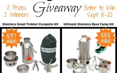 Kelly Kettle Trekker and Basecamp Giveaway!