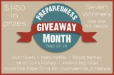 Prepared Bloggers Preparedness Month Mega Giveaway