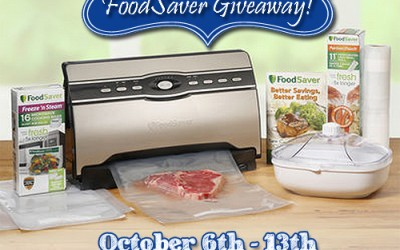 Fall FoodSaver Giveaway!