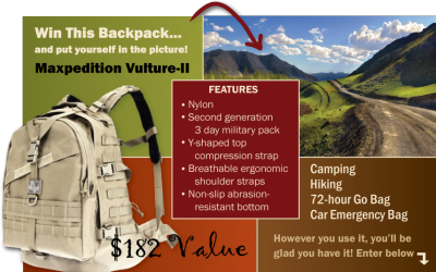 Maxpedition Vulture II Backpack Giveaway
