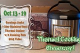 Saratoga Jack's Thermal Cooker Giveaway