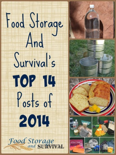14 Top Reader Favorites of 2014 at Food Storage and Survival!  Did your favorite make the list?
