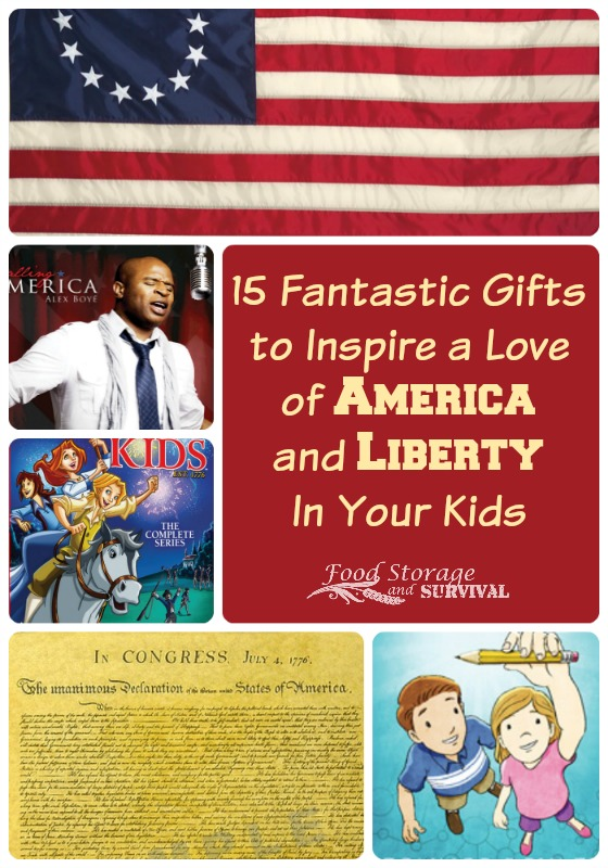 15 Fantastic Gifts to Inspire a Love of America and Liberty in Your Kids