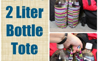 DIY Double 2 Liter Bottle Tote