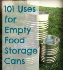 Uses for Empty Food Storage Cans