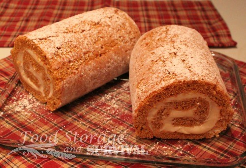 Pumpkin, cream cheese, what's not to love? Sinfully delicious pumpkin roll