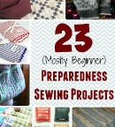 23 Preparedness Sewing Projects