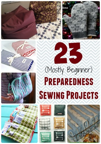 Want to hone your sewing skills and get better prepared?  Take on one of these (mostly beginner) sewing projects!