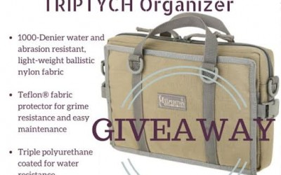 Maxpedition Triptych Organizer Giveaway!