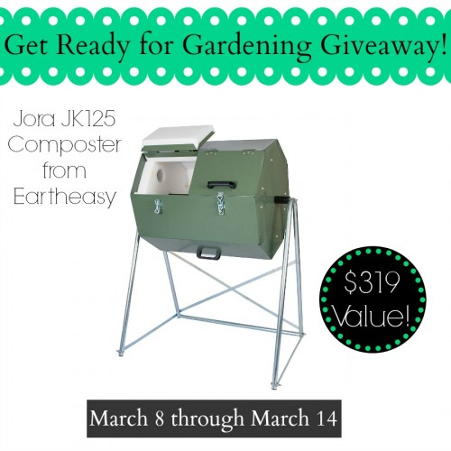 Composter giveaway! Ends 3/14/15 - Enter today!