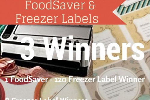 FoodSaver and Freezer Label Giveaway!