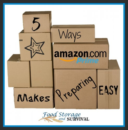 5 Ways Amazon Prime Makes Preparing Easy! This service is perfect for preppers!