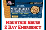Mountain House 2 Day Emergency Food Supply Giveaway!