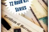 72 Hour Emergency Kit Series Week 9: Documents