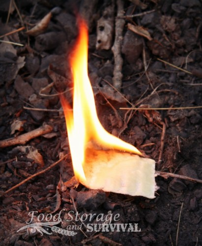 Don't toss that wax! Make and instant fire starter from your scented wax melter! So easy!