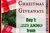 12 Days of Christmas Giveaways: Day 1–Lucky Gunner Ammo