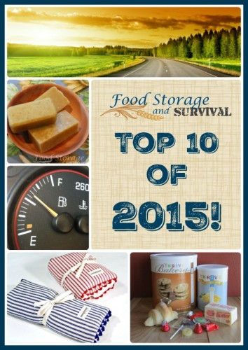 Top 10 of 2015 at Food Storage and Survival!