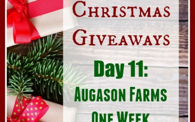 12 Days of Christmas Giveaways–Day 11: Augason Farms 1 Week Pantry Pack