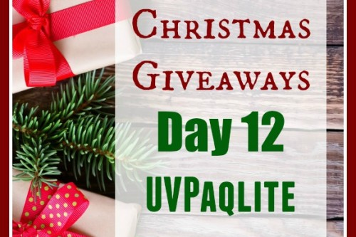 12 Days of Christmas Giveaways–Day 12: UVPaqlite Variety Pack