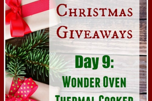 12 Days of Christmas Giveaways: Day 9–Wonder Oven Thermal Cooker