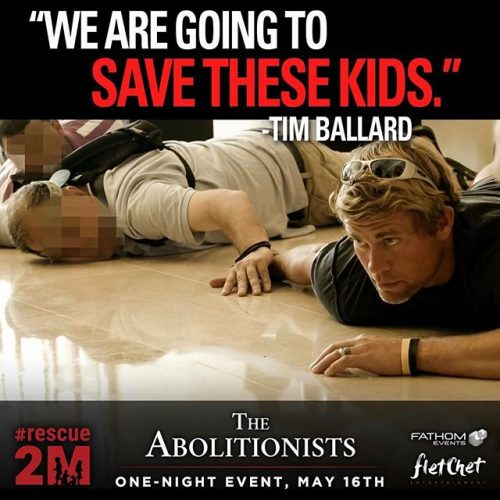 The Abolitionists--showing May 16, 2016 at a theater near you!