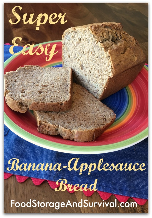 Our favorite super easy banana applesauce bread recipe forumfinder Choice Image