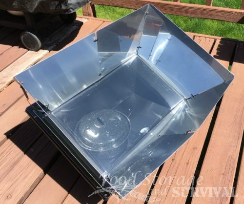 Solavore sport solar oven review--will it bake a cake?