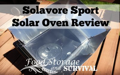 Solavore Sport Solar Oven Review: Pasteurizing Water and Baking