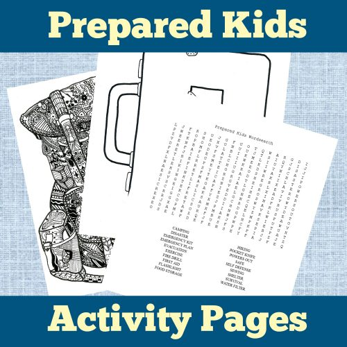 prepared kids ebook activity pages