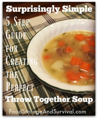 Make your own soups from scratch using what you have at home with this easy guide to creating your own soups!