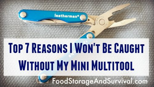 Top 7 Reasons I carry a mini multitool!