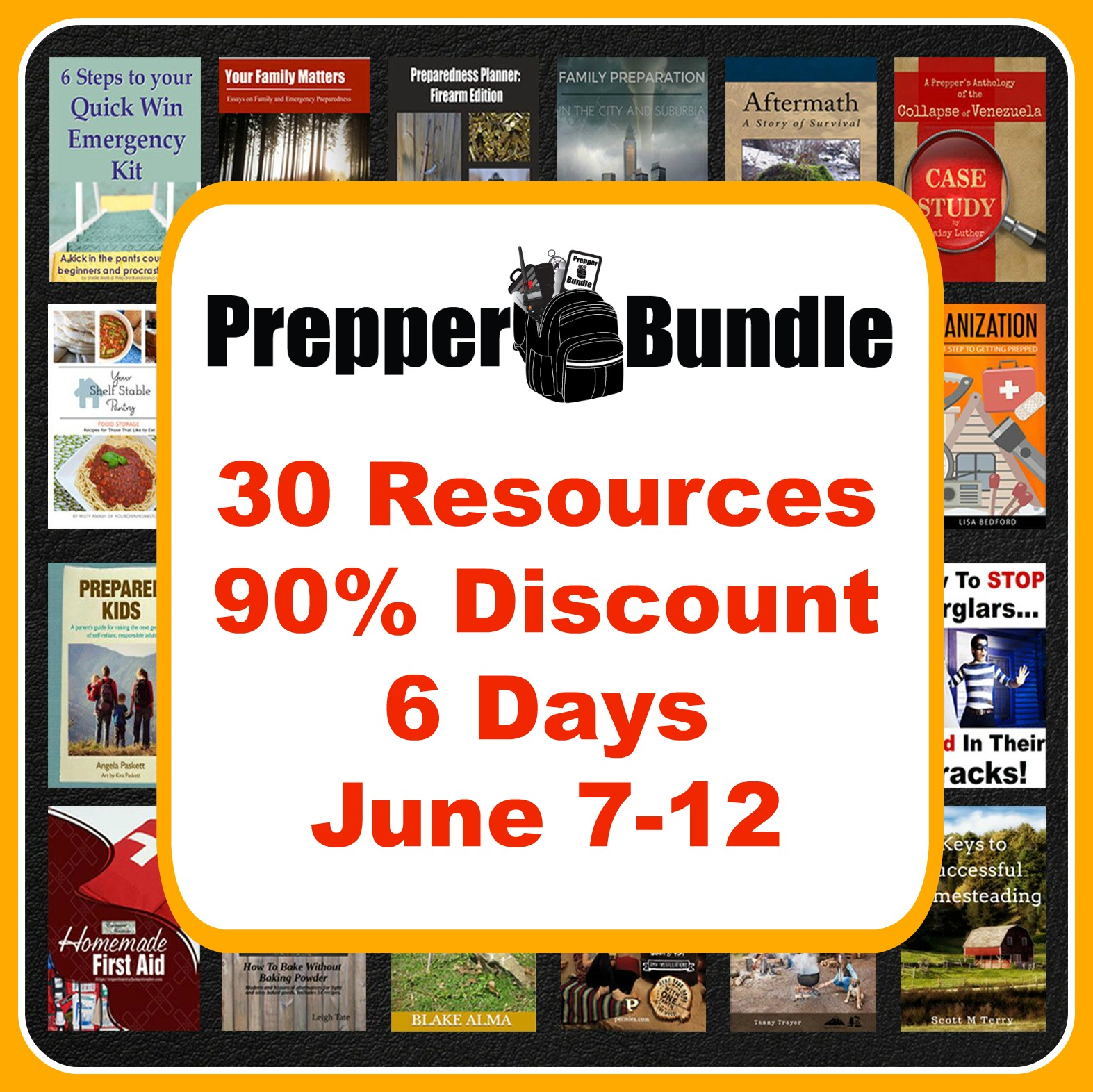 Get the Prepper Bundle this week only!
