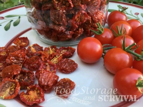 The BEST use for extra cherry tomatoes! How to Make Sun Dried Tomatoes! Easy and yum!!
